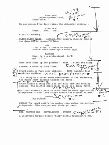 Screenplay breakdown